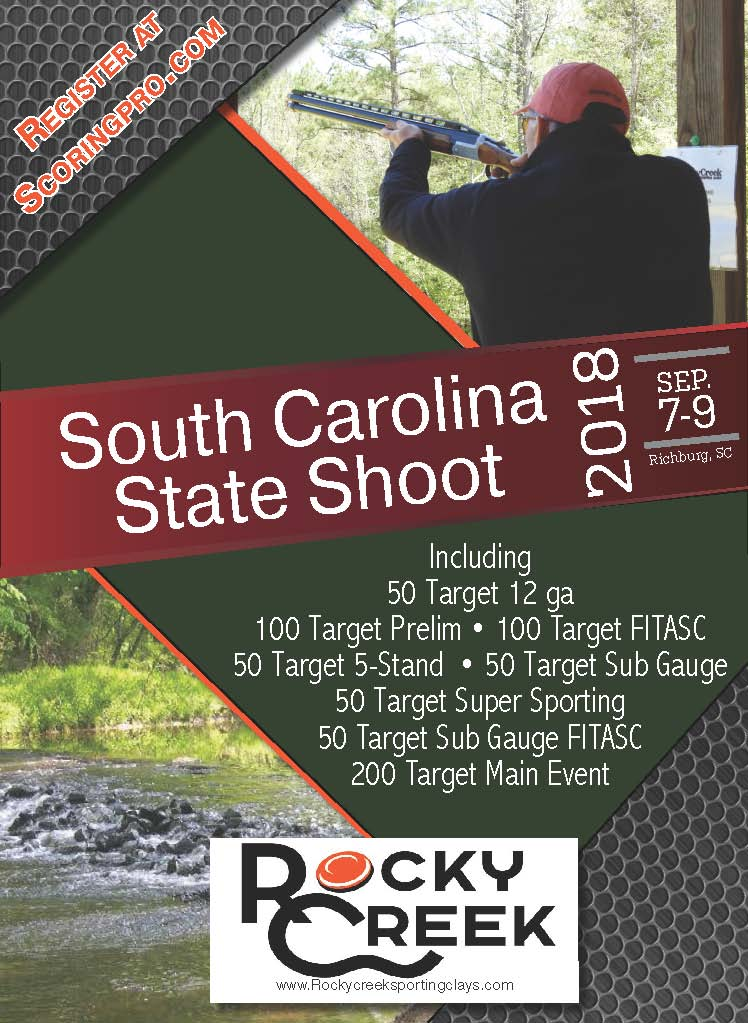 2018 State Shoot Flyer Without Sponser