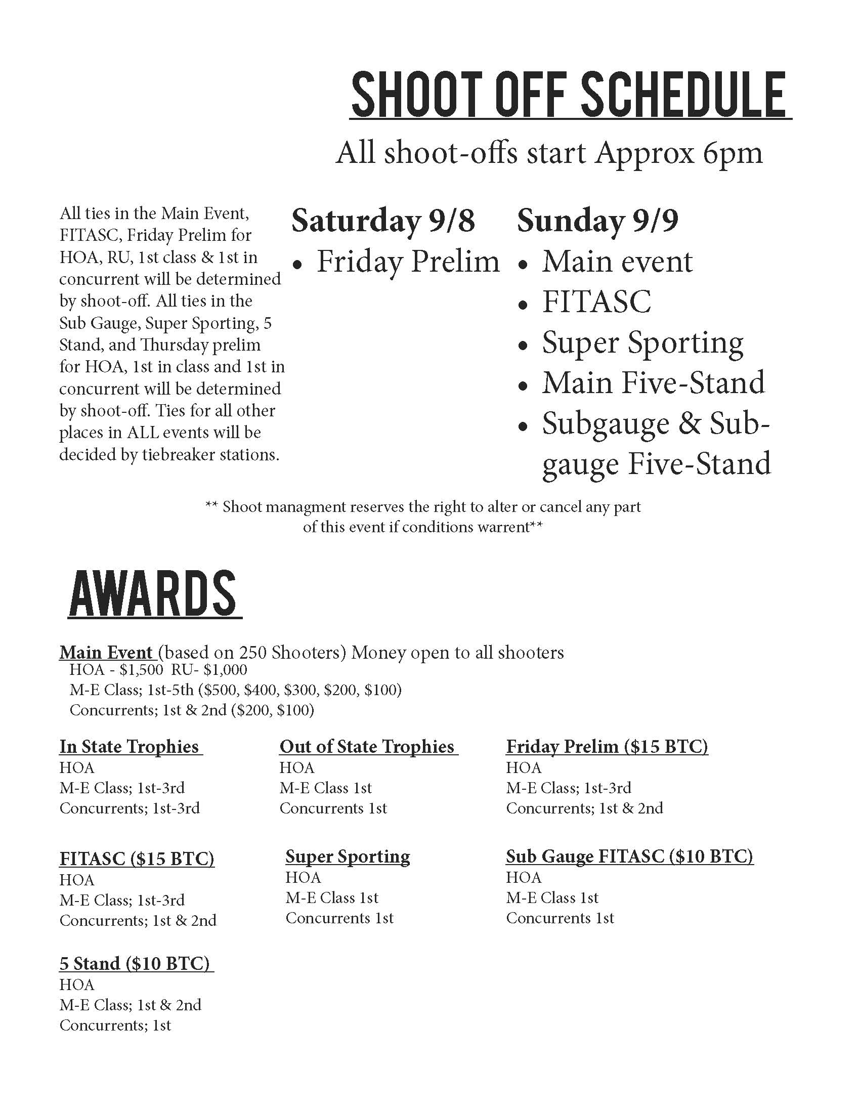 2018 State Shoot Schedule PDF 1 Page 3
